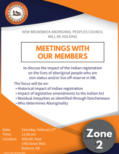 Zone 2 members consultation meeting - Indian Registration @ Atlantic host