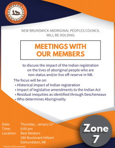 Zone 7 members consultation meeting - Indian Registration @ Best Western
