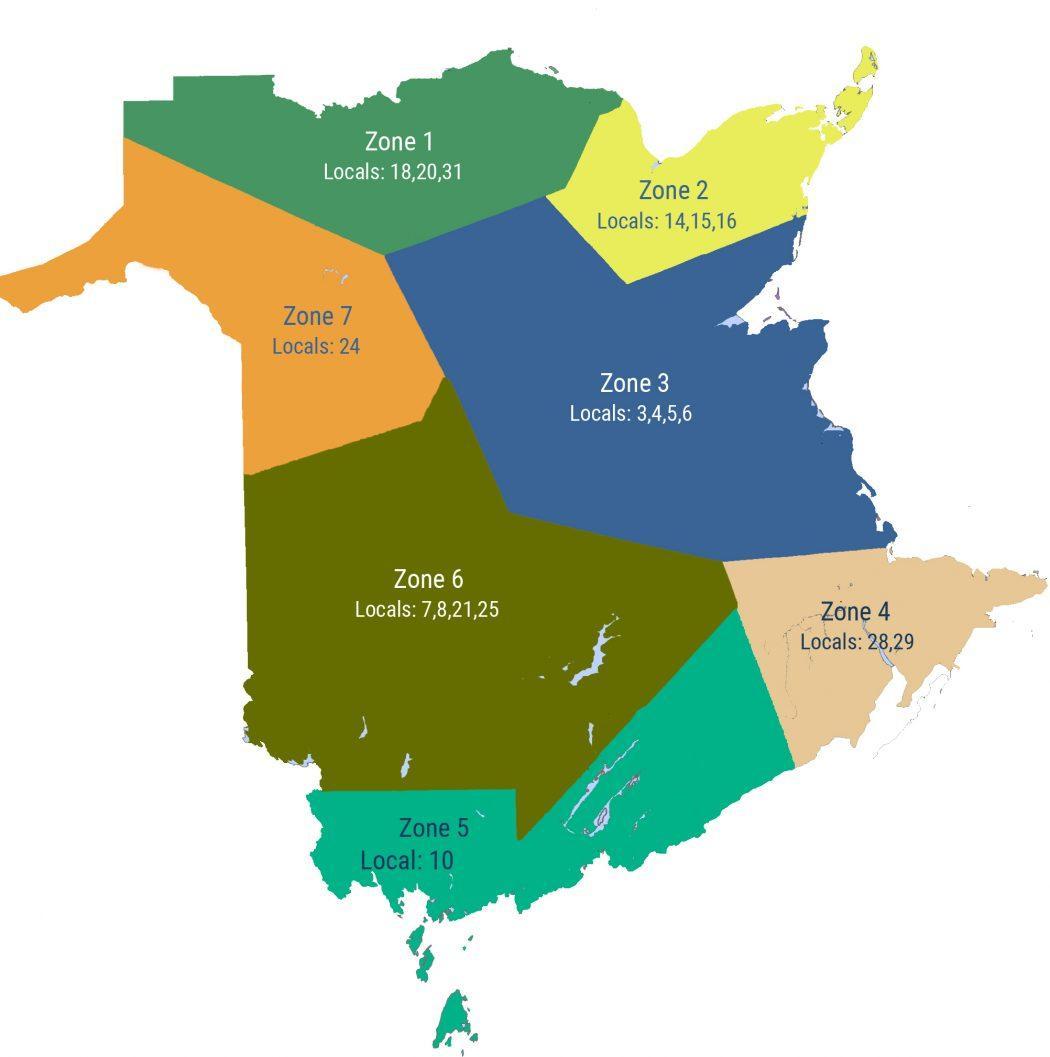 NB MAP ZONES